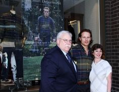 Here are some NEW HQ pics of Sam Heughan at the Barbour and Bloomingdale's Event Earlier Today More after the jump!