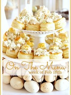 ON THE MENU WEEK OF FEB I've done all the planning for you. Here's a week's worth of scrumptious recipes ready for you to make. Pastry Recipes, Cake Recipes, Cooking Recipes, Healthy Cooking, Homemade Chicken Salads, Chicken Mashed Potatoes, Perfect Roast Chicken, Ceasar Salad, Good Food