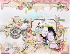 Emma Trout: Dusty Attic/Webster's Pages  Thank you for pinning my layout! :)