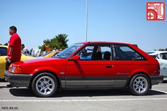 Mazda 323 GTX | Long before Ford's spicy Focus RS or Subaru's iconic WRX came into the picture, Mazda neatly filled the small, rally-bred, all-wheel-drive hatchback niche with its Mazda 323 GTX (1988–1989) Forgotton Cars of the 80s