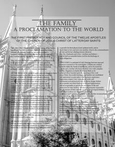 Temples with the Proclamation
