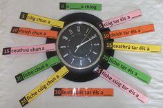 An t-am Irish Language, 5th Class, Numeracy, Languages, Ireland, Classroom, Posters, Teaching, Activities