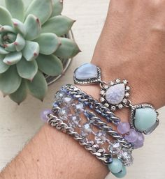 Arm yourself with our newest cool-blue jewels – available now!