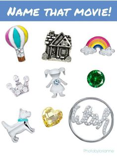 Origami Owl Name That Movie! game. Answer: The Wizard Of Oz  Order online at http://lindsaychrisjohn.origamiowl.com