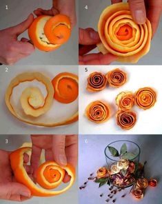 Ароматическое саше из апельсиновых корок