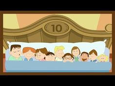 """▶ """"Ten in the Bed"""" by ABCmouse.com - YouTube"""