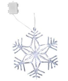Want to guarantee a white Christmas? Hang these 14-inch LED snowflakes from tree branches to brighten up your lawn. Bonus: they're battery-operated and turn on automatically at dusk.