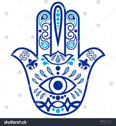 """Imagens, fotos stock e vetores similares de Color Hamsa hand drawn symbol with mantra OM. Decorative pattern in oriental style for the interior decoration and henna drawings. The ancient sign of """"Hand of Fatima"""". Hamsa Hand Tattoo, Hand Tattoos, Hamsa Tattoo Design, Hamsa Art, Hamsa Design, Tatoos, Hand Kunst, Hipster Drawings, Henna Drawings"""