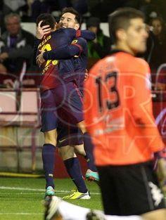 Lio Messi FC Barcelona   Gol 91, segundo del partido, ante Valladolid 1-3 FC Barcelona. [22.12.12]