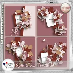 Rose wood Templates by S.Designs