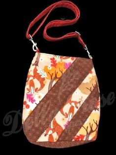 #craftshout0415 Mini hipster bag Ready to ship bag Cross by DellaRoseSewnDesigns