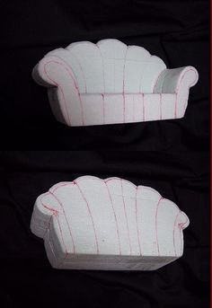 https://flic.kr/p/4aSaYZ | How to make doll sofa (step3) | to be not continued