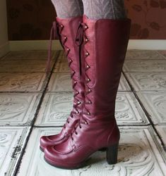 CHIE MIHARA boots. Thank you tumblr for showing me this brand.
