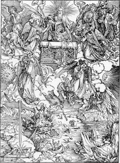 Albrecht Dürer: Die sieben Posaunen