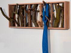 Diy Idea: Make A Tree Branch Coat Rack
