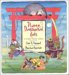 Three Samurai Cats: A Story from Japan: Eric A Kimmel, Mordicai Gerstein: 9780823417421: Amazon.com: Books