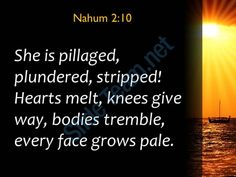 nahum 2 10 she is pillaged plundered stripped powerpoint church sermon Slide03  http://www.slideteam.net/