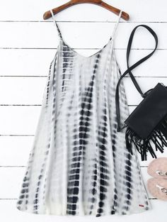 SHARE & Get it FREE | Tie-Dyed Trapeze Slip Dress - Colormix SFor Fashion Lovers only:80,000+ Items • New Arrivals Daily Join Zaful: Get YOUR $50 NOW!