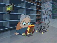 """""""Atención al cliente"""", corto animado,   nominado al mejor corto de animación Goyas 2008"""