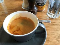 Long black coffee at Fifty Acres cafe in Richmond #coffee