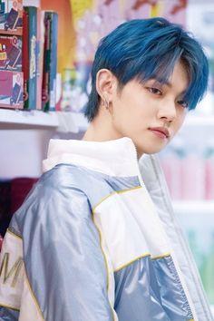 · · txt › © bighit ∞ magic hour behind K Pop, Kai, Rapper, K Idols, Blue Hair, South Korean Boy Band, Monsta X, Shinee, Boy Bands