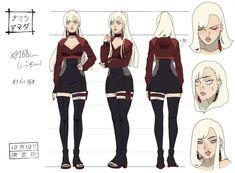 Naomitsu Yamada Reference by shisaireru on DeviantArt Oc Manga, Anime Oc, Anime Naruto, Character Sketches, Female Character Design, Character Art, Naruto Oc Characters, Female Characters, Desenhos League Of Legends