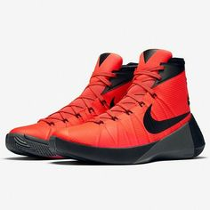 This Bright Crimson colorway of the Nike HyperDunk 2015 releases on July 1st. See more images on KicksOnFire.com.