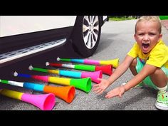 Bad baby & magic Trumpet / Family Fun video for funny children Elsa Baby, Hulk, Beautiful Places, Youtube, Frozen, Car, Shopping, Automobile, Youtubers