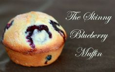 Skinny Blueberry Muffin Recipe