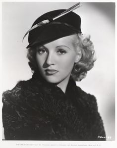 """Betty Grable. Betty Grable, the G.I.'s favorite pin-up girl during World War II starred in countless Technicolor musicals for Fox including """"Down Argentine Way,"""" """"Moon Over Miami"""" and """"The Gang's All Here"""" and was married for several years to bandleader Harry James."""