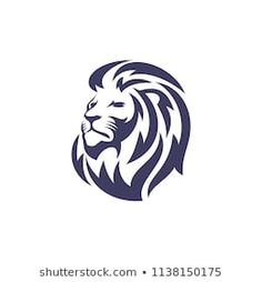 Lion tattoos hold different meanings. Lions are known to be proud and courageous creatures. So if you feel that you carry those same qualities in you, a lion tattoo would be an excellent match Tribal Lion Tattoo, Lion Head Tattoos, Leo Tattoos, Lion Head Logo, Lion Logo, Lion Head Drawing, Dinosaur Drawing, Lion Sketch, Lion Illustration