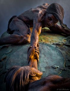 Ascent - Sculpture by Gary Lee Price by rob stalnaker, via Flickr
