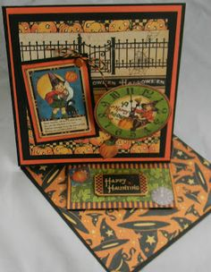 Graphic 45 Halloween card