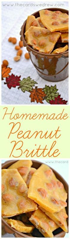 An easy Homemade Peanut Brittle recipe that takes no time to make and is utterly addicting!!