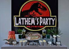 A Jurassic Park Themed Birthday Party