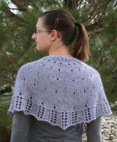 Emerald City Shawlette Free Knitting Pattern at Jimmy Beans Wool