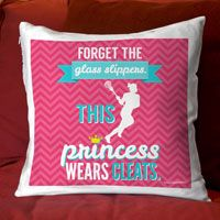 Awesome lacrosse girl pillow from LuLaLax.com!
