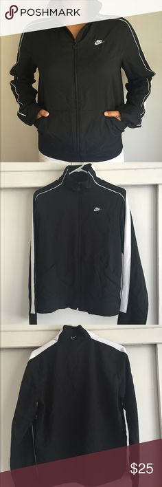 Nike Fleece Jacket Used Nike windbreaker jacket size medium. This jacket is very light, and perfect for running. Nike Jackets & Coats