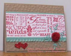 Use quote and word stamps or stickers on scrap paper, then trim.