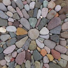 a beach mosaic (not mortared) from Jeffrey Bale's World of Gardens
