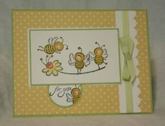 Bee Joyful by sleepyinseattle - Cards and Paper Crafts at Splitcoaststampers