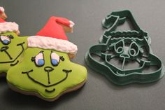 Grinch cookie cutter