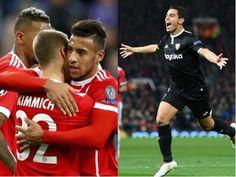 Bayern München vs Sevilla - PalpiTips  Clica na imagem ou neste link http://bit.ly/2v4XUrp #Apostas, #BayernMünchenVsSevilla, #Bet, #LigaDosCampeões, #Pick, #Tip