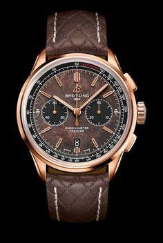 Breitling présente la Premier Bentley Centenary Limited Edition – Men's Watches from Top Brands Breitling Navitimer, Breitling Superocean Heritage, Breitling Watches, Stylish Watches, Luxury Watches For Men, Cool Watches, Men's Watches, Luxury For Men, Titanium Watches