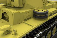 PzKpfw III Ausf L turret - STEP / IGES - 3D CAD model - GrabCAD