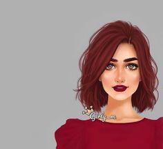 Imagen de girly_m, art, and red