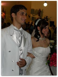 Ternos branco de casamentos