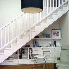 comment amenager espace sous un escalier. Black Bedroom Furniture Sets. Home Design Ideas