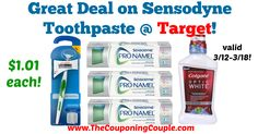 LOVE this deal!!! Definitely a GREAT time to stock up on Sensodyne, which is regularly $5.29 to $5.99! Great Deal on Sensodyne Toothpaste @ Target!  Click the link below to get all of the details ► http://www.thecouponingcouple.com/great-deal-on-sensodyne-toothpaste-target/ #Coupons #Couponing #CouponCommunity  Visit us at http://www.thecouponingcouple.com for more great posts!