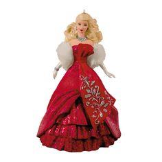 celebration barbie ornament from Hallmark
